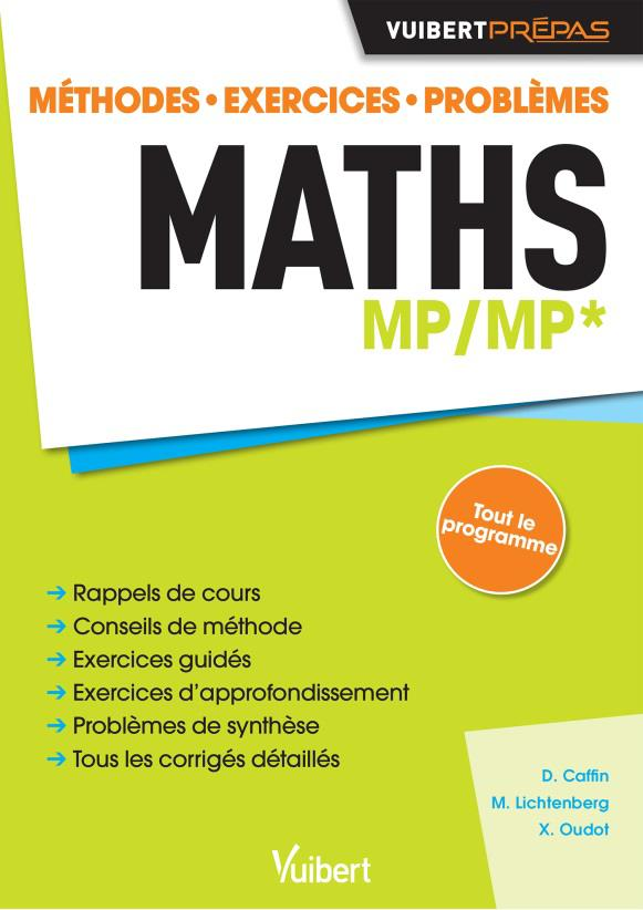 Maths ; MP/MP* ; méthodes, exercices, problèmes