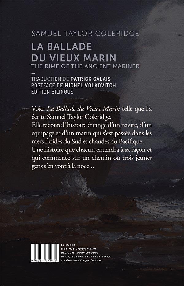 La ballade du vieux marin ; the rime of the ancient marine