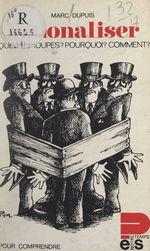 Vente Livre Numérique : Nationaliser  - Marc Dupuis