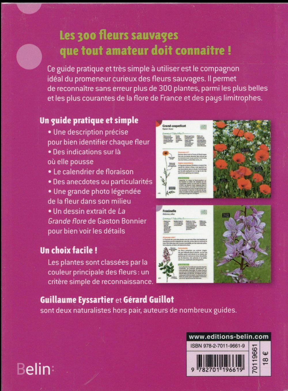 L'indispensable guide de l'amoureux des fleurs sauvages