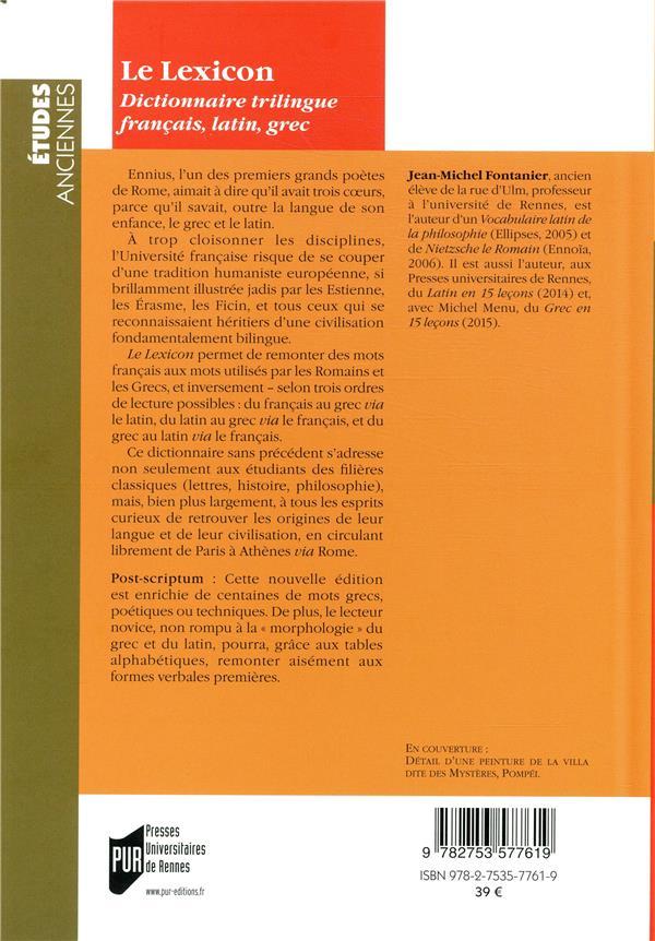 Le Lexicon (2e édition)