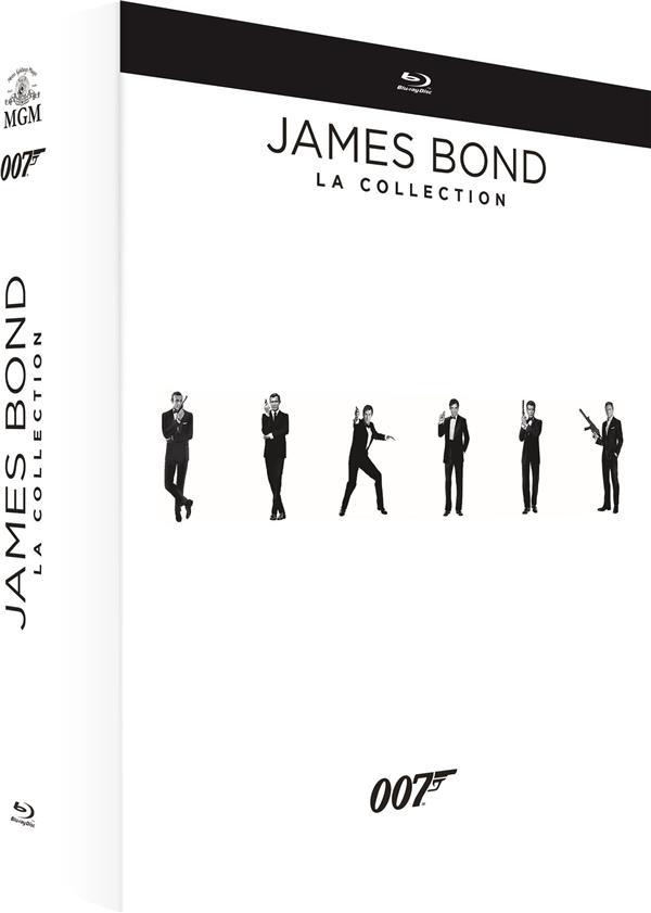 James Bond 007 : Intégrale des 24 films