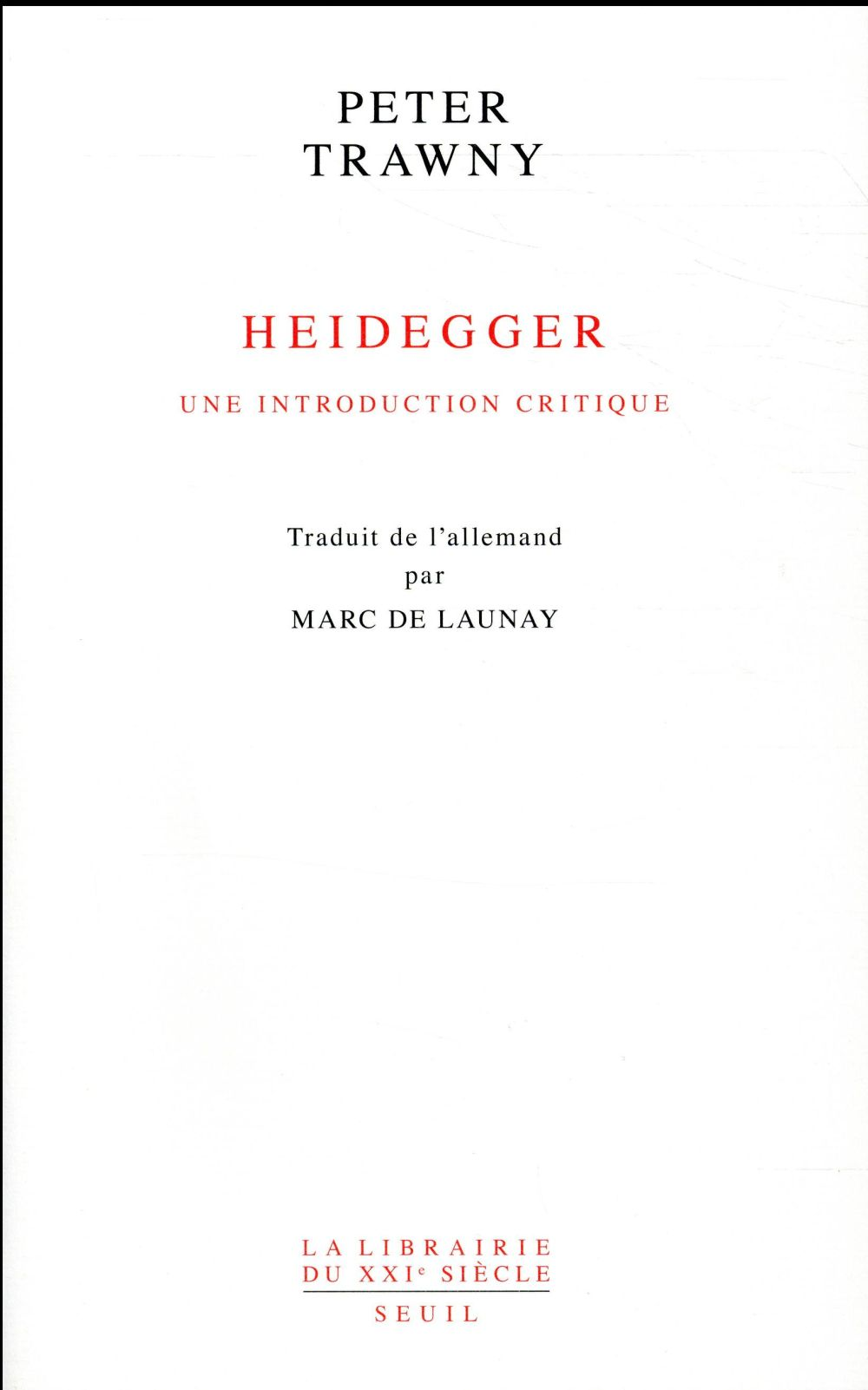 Heidegger, une introduction critique