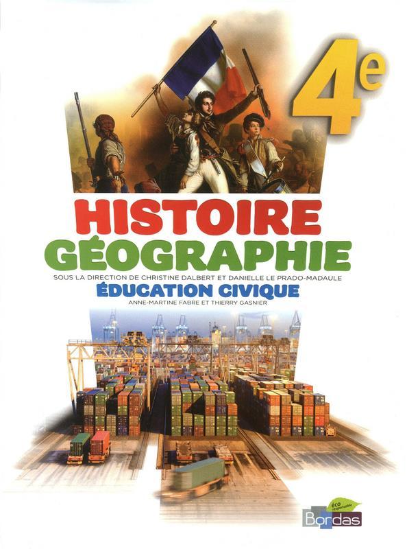 Histoire Geographie Education Civique 4e
