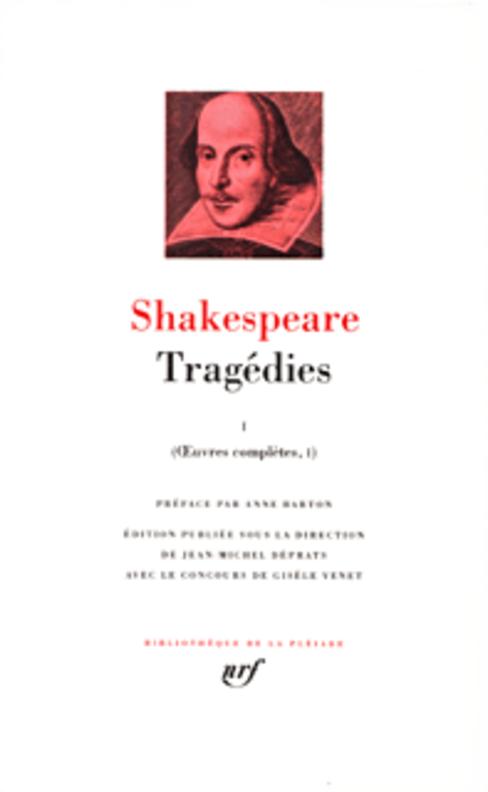 Oeuvres Completes T.1 ; Tragedies T.1