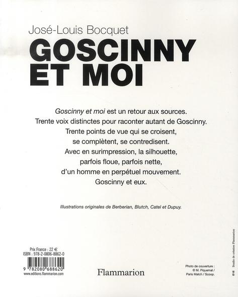 Goscinny et moi ; témoignages