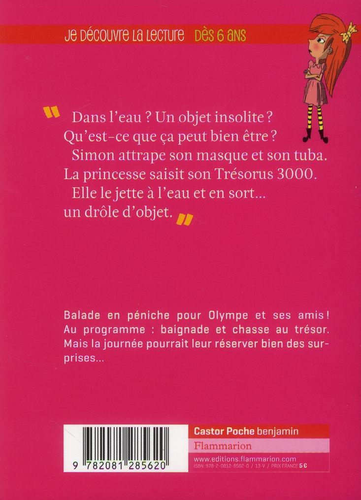Princesse Olympe t.3 ; la chasse au trésor