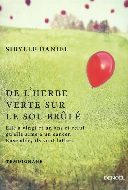 De l'herbe verte sur le sol brûlé  - Sibylle Daniel