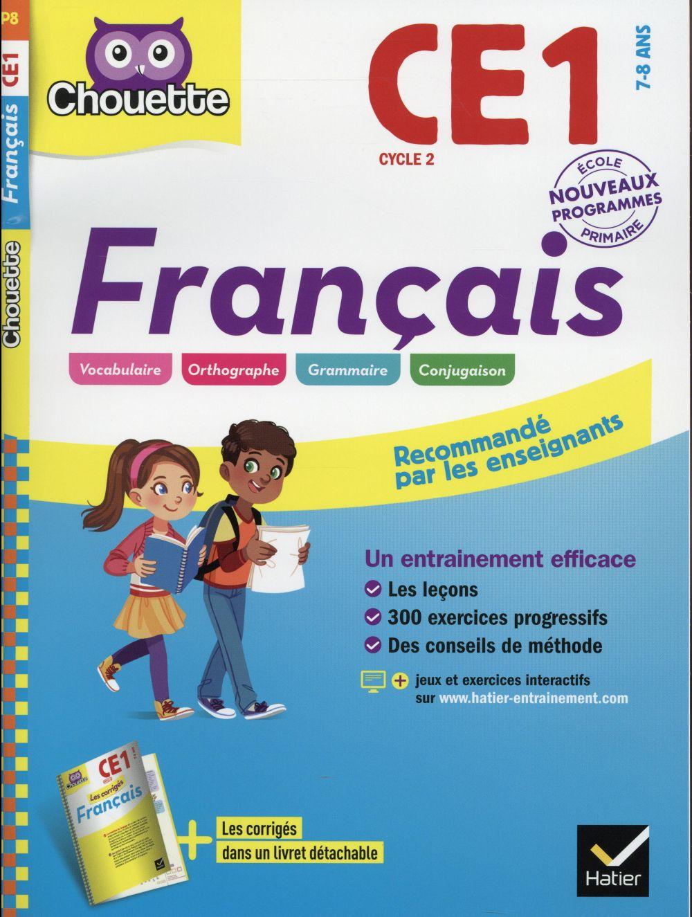 chouette ; français ; CE1 (édition 2016)