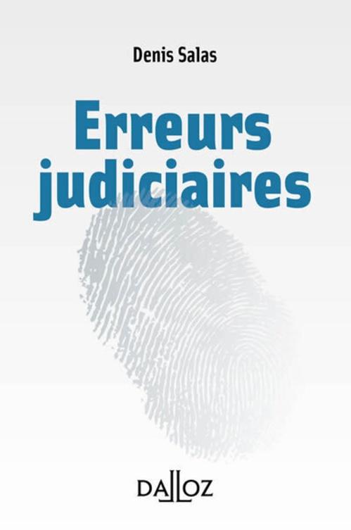 L'erreur judiciaire
