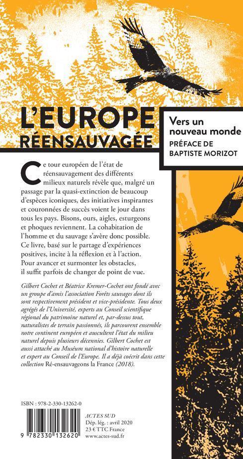L'Europe réensauvagée ; vers un nouveau monde