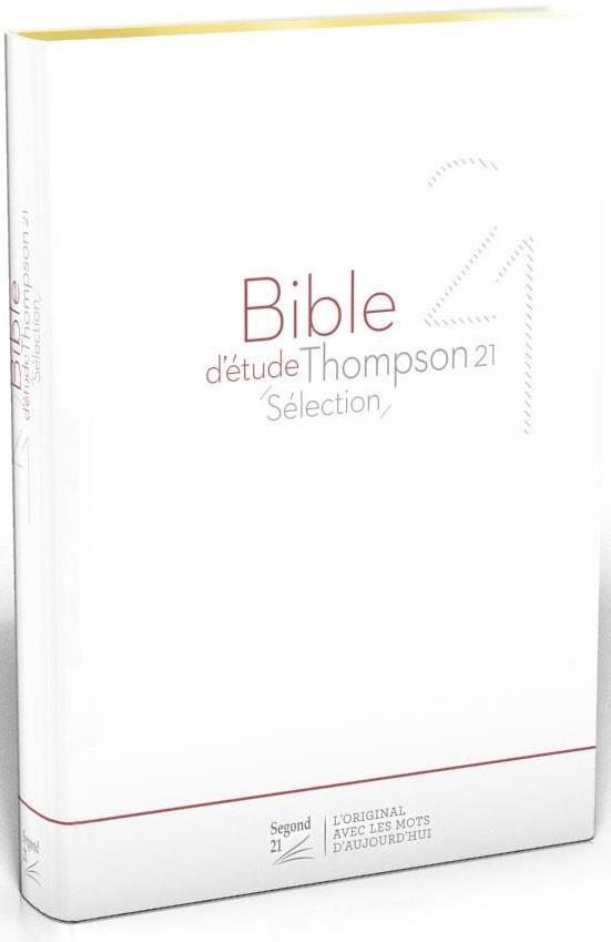 Bible d'étude Thompson ; 21 selection