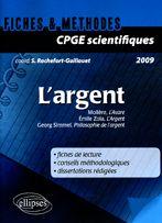 L'Argent Cpge Scientifiques 2009 Moliere Emile Zola Georg Simmel