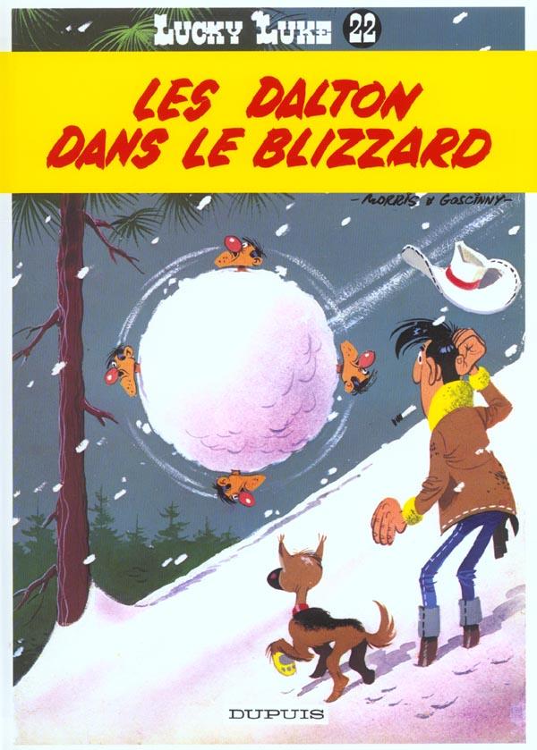 Lucky Luke T.22 ; Les Dalton Dans Le Blizzard