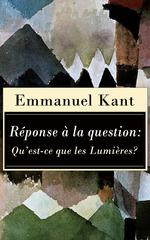 Vente EBooks : Réponse à la question: Qu´est-ce que les Lumières?  - Emmanuel KANT