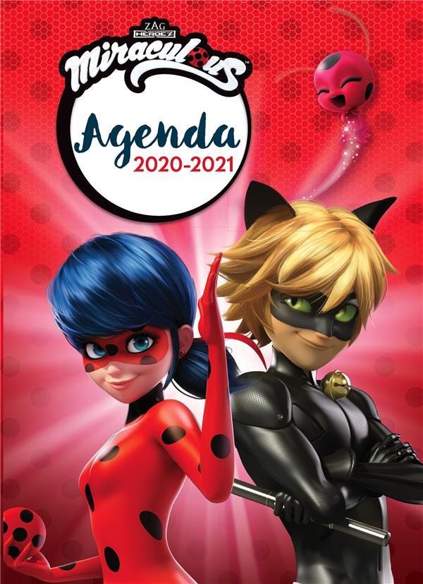 Miraculous ; agenda (édition 2020/2021)