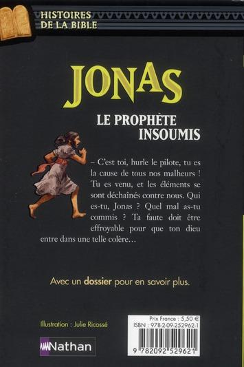 Jonas, le prophète insoumis