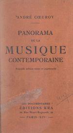 Panorama de la musique contemporaine  - Andre Coeuroy
