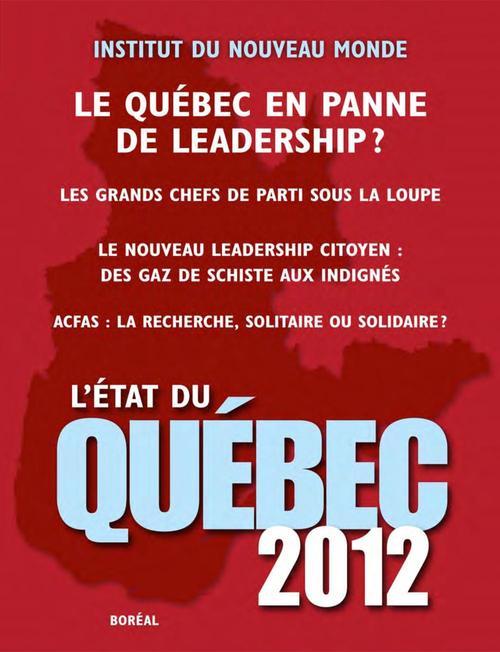 L'Etat du Québec 2012