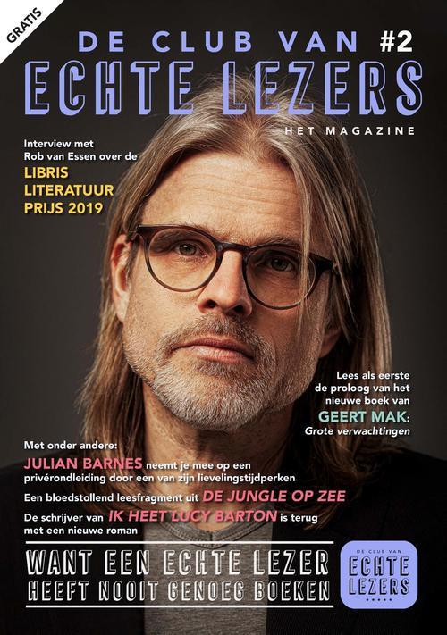 De Club van de Echte Lezers Magazine - zomer 2019