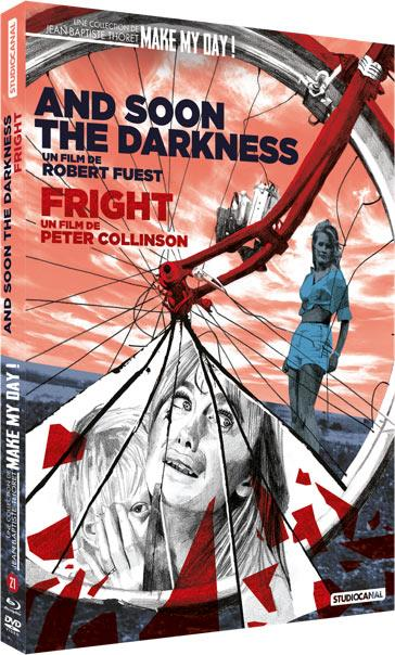 coffret 2 films : and soon the darkness ; fright