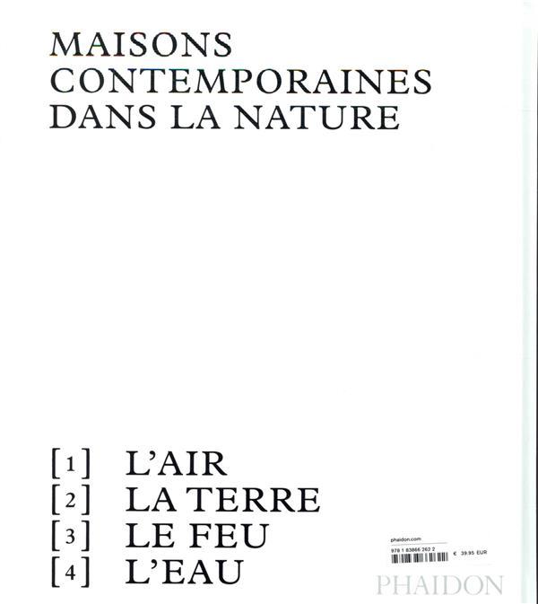 Habiter la nature t.2 : maisons contemporaines dans la nature