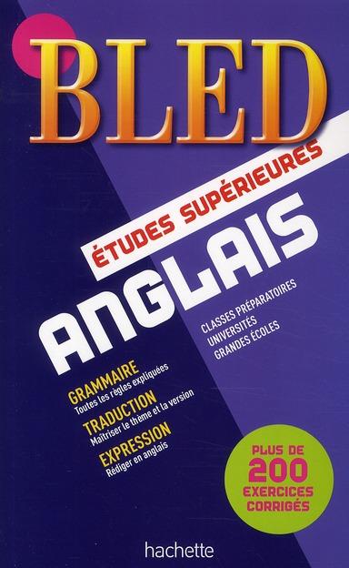 BLED ; anglais ; classe prépas