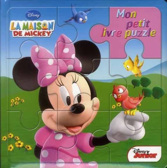 Mon Petit Livre Puzzle; La Maison De Mickey ; Minnie