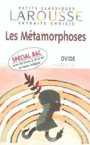 Les metamorphoses (édition 2005)