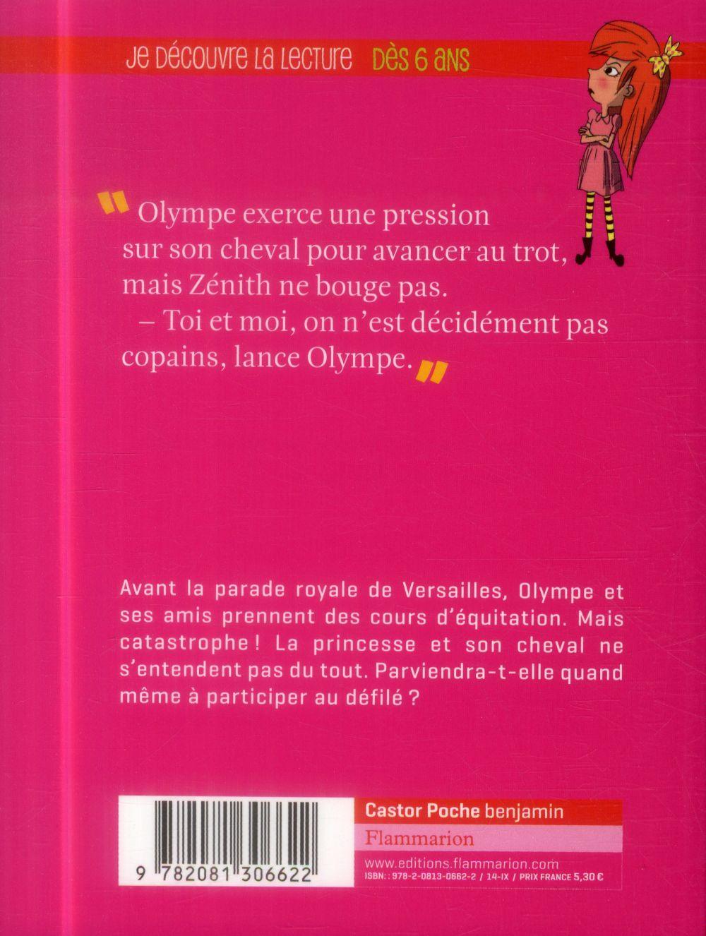 Princesse Olympe t.6 ; une cavaliere royale