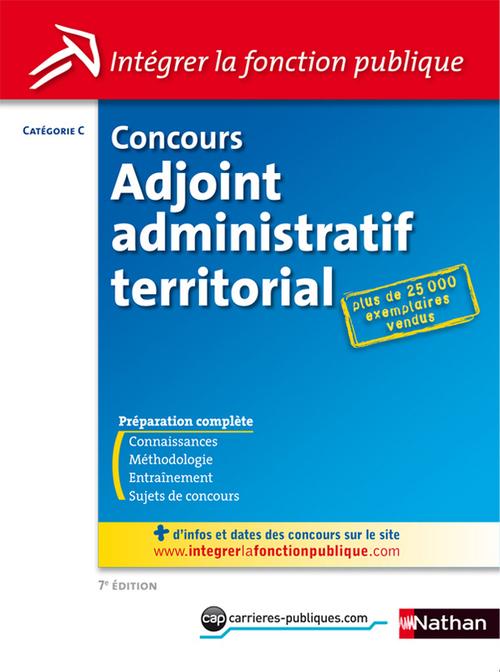 Concours adjoint administratif territorial ; catégorie C (édition 2012)