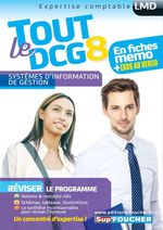 Vente Livre Numérique : Tout le DCG 8 ; système d'information et de gestion  - Alain Burlaud - Jacques Chambon - Gilles Boisson