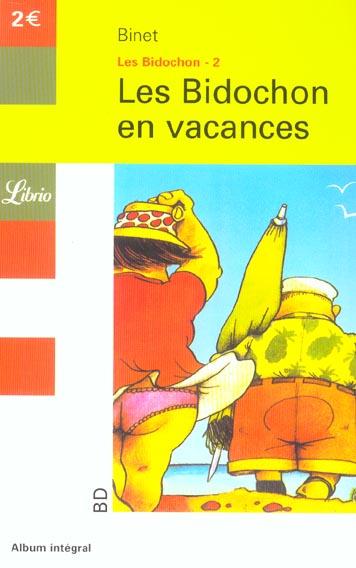 Les Bidochon T.2 ; Les Bidochon En Vacances