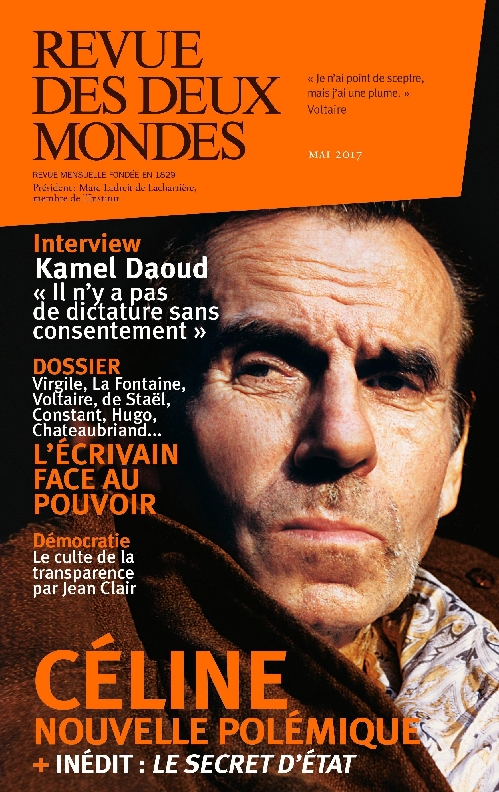 Revue des Deux Mondes mai 2017