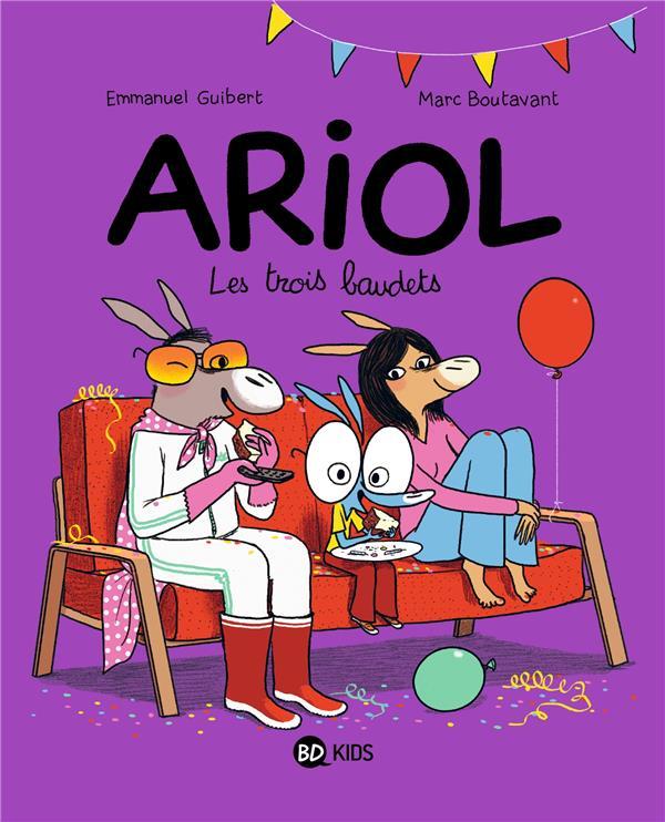 ARIOL, TOME 08 - LES TROIS BAUDETS Boutavant Marc