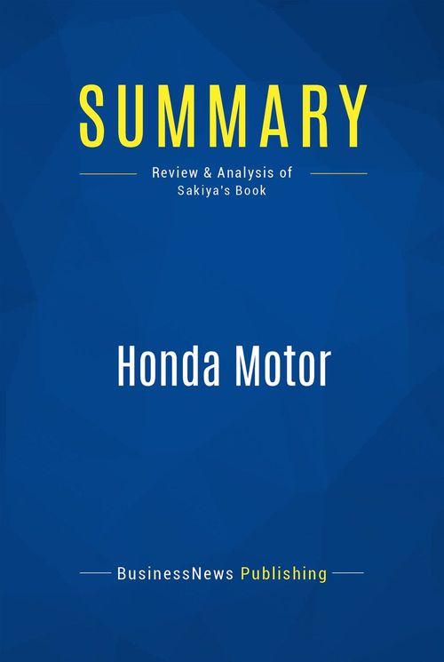 Summary: Honda Motor