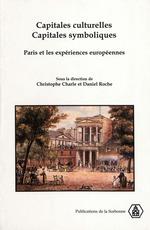 Vente EBooks : Capitales culturelles, capitales symboliques  - Daniel Roche - Christophe CHARLE
