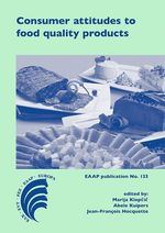 Consumer attitudes to food quality products  - Jean-François Hocquette - Abele Kuipers - Marija Klopcic