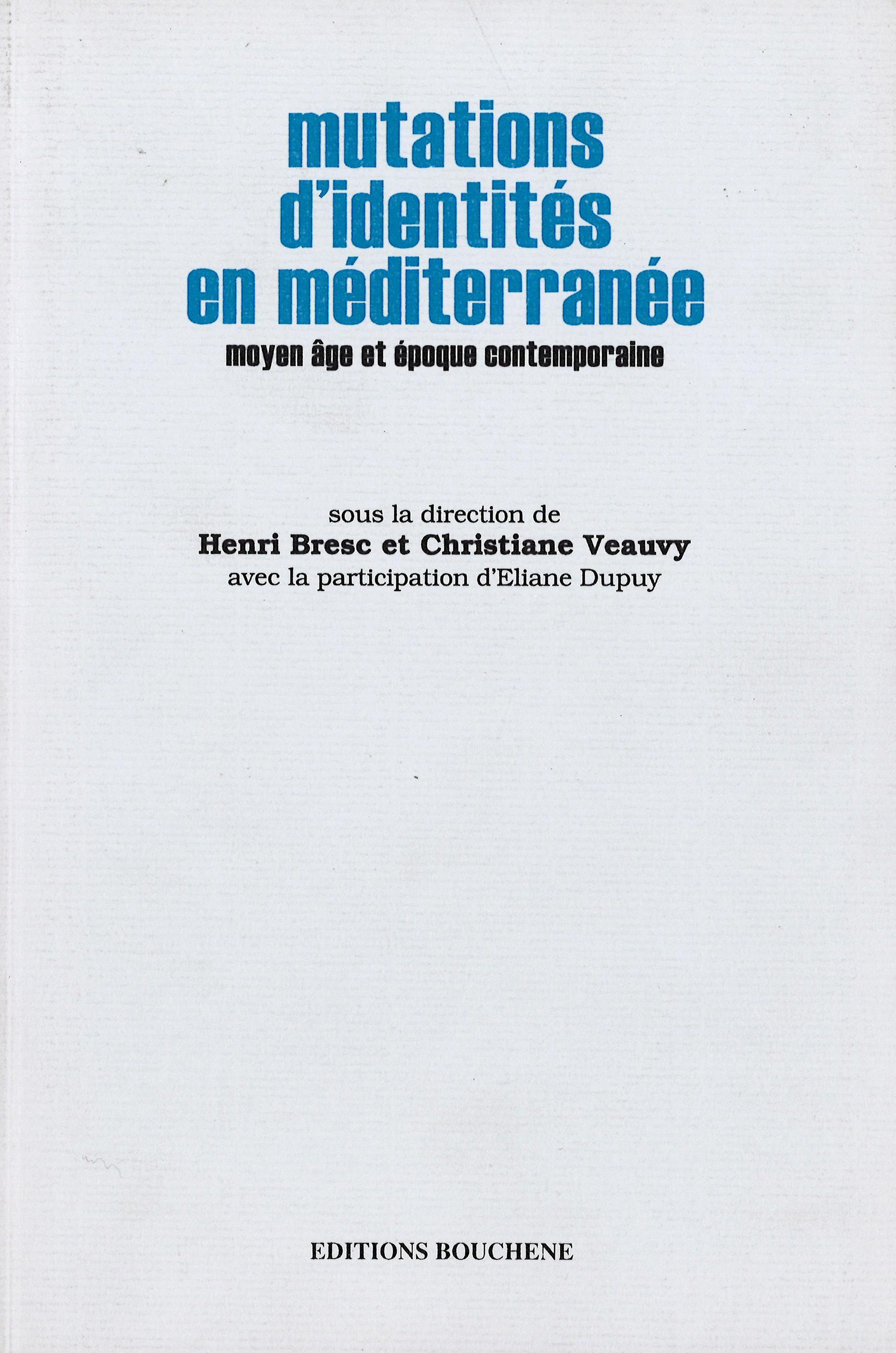 Mutation d'identité en Méditerranée
