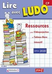Lire avec Ludo ; ressources pour vidéoprojection et tableau blanc interactif (édition 2020)