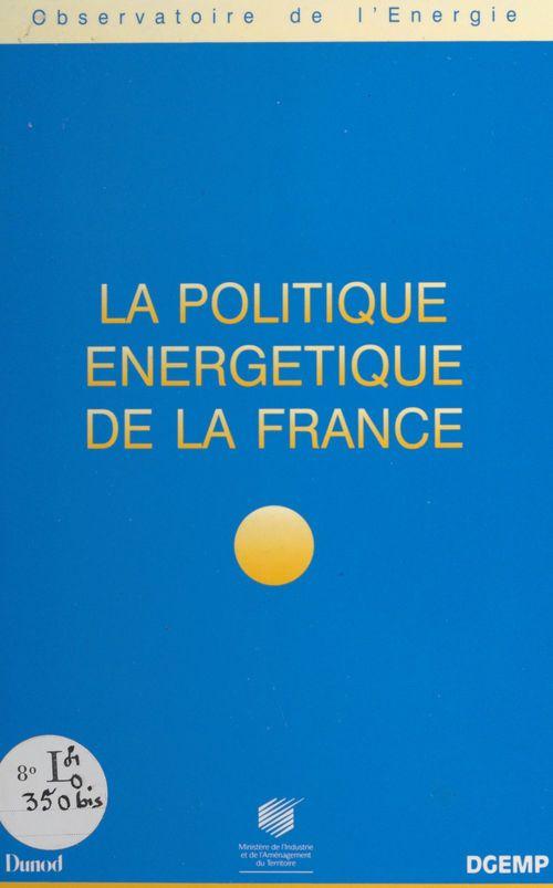 Politique energetique de