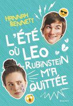 Vente Livre Numérique : L'été où Leo Rubinstein m'a quittée  - Hannah Bennett