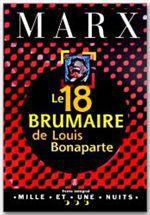 Vente EBooks : Le 18 Brumaire de Louis Bonaparte  - Karl MARX
