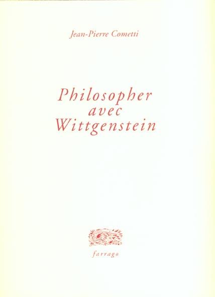 Philosopher avec wittgenstein