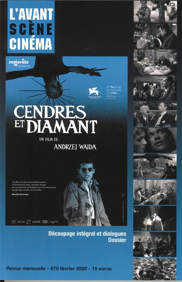 L'avant-scene cinema n 670 cendres et diamant