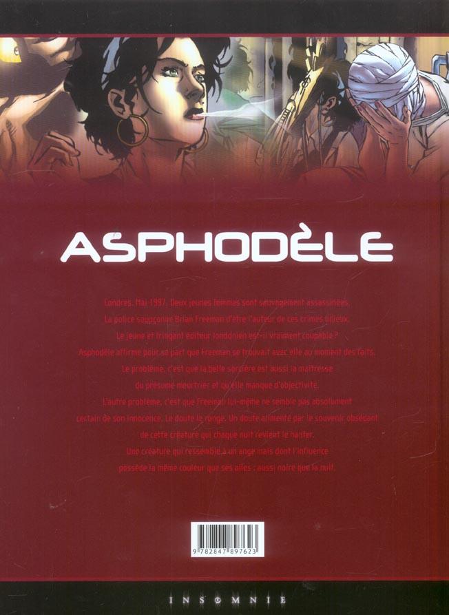 Asphodèle t.4 ; la nuit du masque