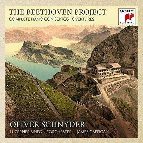 the Beethoven project - The 5 piano concertos & 4 overtures