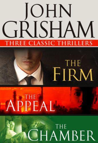 Vente Livre Numérique : Three Classic Thrillers 3-Book Bundle  - John Grisham