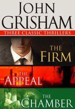 Vente Livre Numérique : Three Classic Thrillers 3-Book Bundle  - Grisham John
