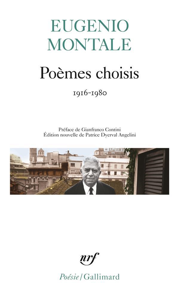 Poèmes choisis (1916-1980)